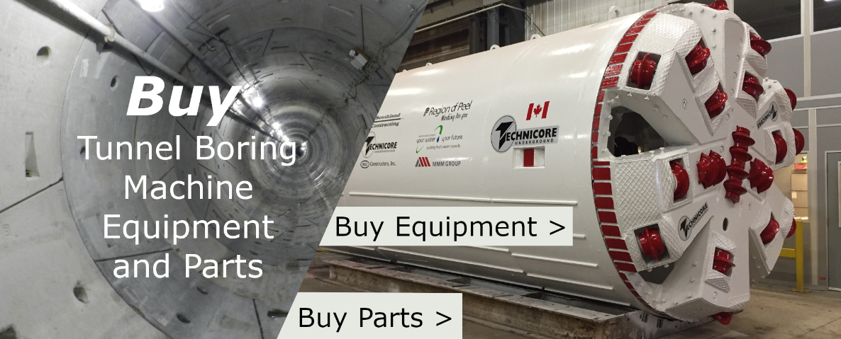 Buy Tunel Boring Machine And Parts
